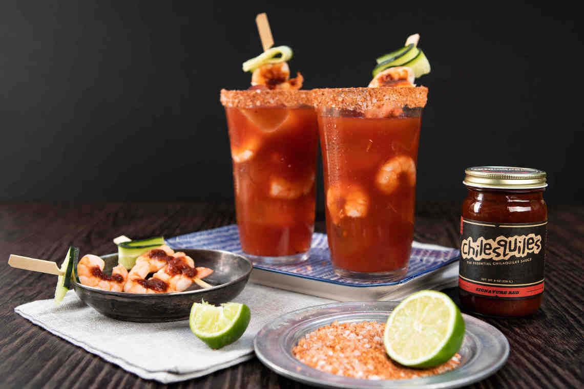 SHRIMP MICHELADA
